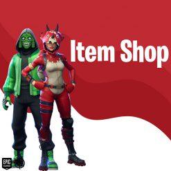 خرید item shop فورتنایت